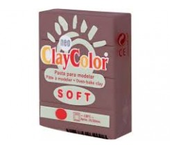 Clay Color Soft 56 gr Marron Oscuro