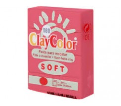 Clay Color Soft 56 gr Rojo