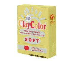 Clay Color Soft 56 gr Amarillo