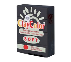 Clay Color Soft 56 gr Negro