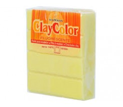 Clay Color Soft 56 gr Amarillo Fluorescente