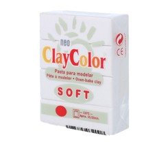 Clay Color Soft 56 gr Blanco