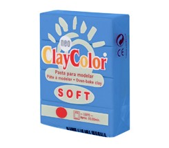 Clay Color Soft 56 gr Cian