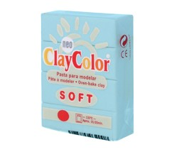 Clay Color Soft 56 gr Azul Bebe