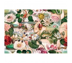 Papel Decoupage 0,70 x 100 m Nenufares