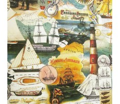 Papel Decoupage 0,70 x 100 m Marinero