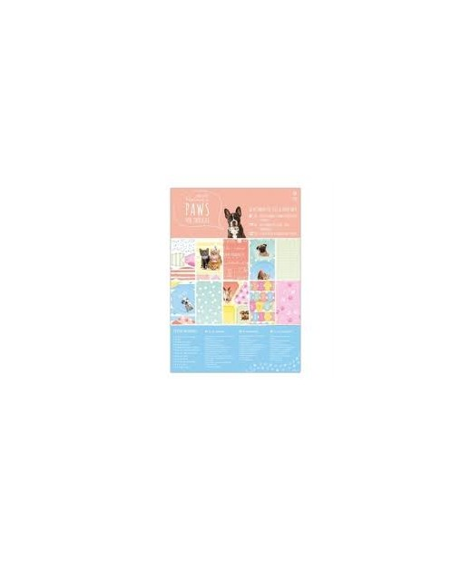 Pack 48 hojas A5 Animales  - Docrafts