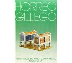 Recortable Arquitectura Rural Horreo Gallego