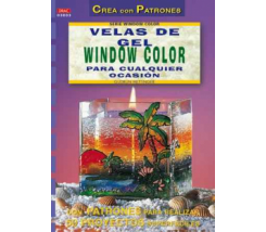 Librillos Drac Velas de Gel con Window Color
