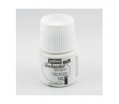Setacolor Opaco 45 ml Pebeo Blanco 10