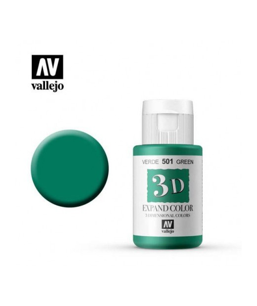 3D Expand Color 35 ml Vallejo Verde 501