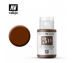 3D Expand Color 35 ml Vallejo Marrón 506