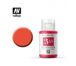 3D Expand Color 35 ml Vallejo  Rojo 511