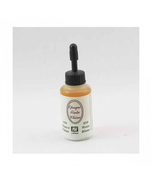 Tinta China 23 ml Vallejo Blanco