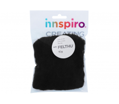 Fieltro Modelable 10 g Negro 1402