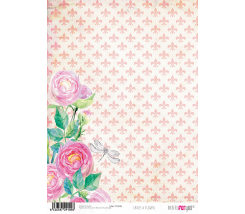 Papel de Arroz 21 x 30 cm Ladies & Flowers I
