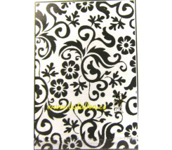 "Plantillas para Embossing ""Decoracion Floral"""