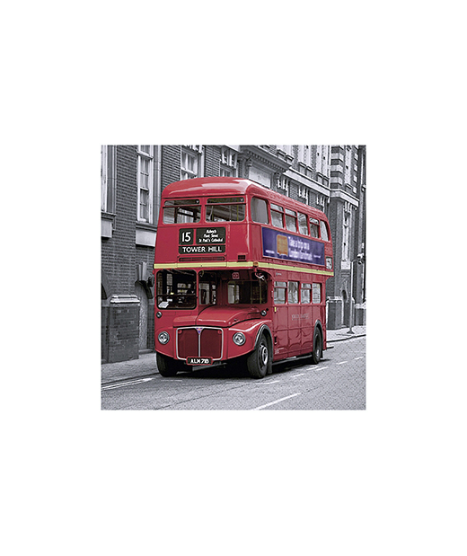 "Servilleta ""Londres Bus"""