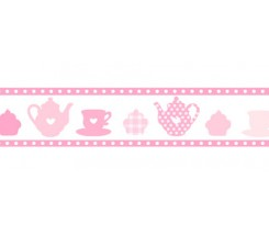 "Washi tape cocina rosa 20mm. ""Stamperia"""