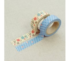 "Pack de 2 Washi tape comida ""Ftp"""