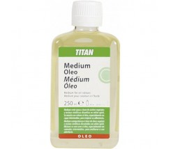 Medium Oleo Titan 250 ml