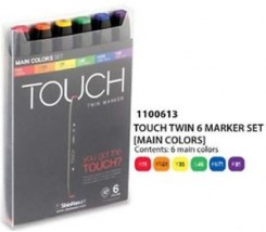 Set 6 Touch Twin Colores Basicos