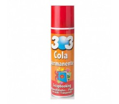Pegamento en Spray Permanente  Papel 250 ml Odif