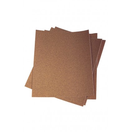 Papel de Lija 230 x 280 mm -P60 Marron Gruesa