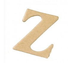Letras Mache Mas Mini 40 x 2 mm - Z