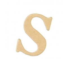 Letras Mache Mas Mini 40 x 2 mm - S