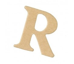 Letras Mache Mas Mini 40 x 2 mm - R