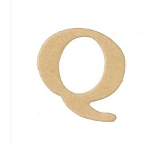 Letras Mache Mas Mini 40 x 2 mm - Q