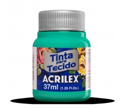 Pintura Textil 37 ml Acrilex Verde Country 822