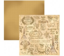 Papel Scrapbooking Paris Stamperia