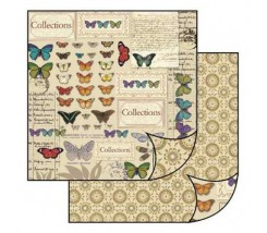 Papel Scrapbooking Mariposas Stamperia