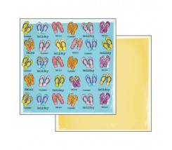 Papel Scrapbooking Chancletas Stamperia