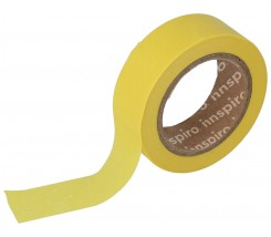 Washi Tape Masking Tape Lisos Amarillo