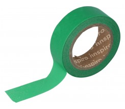Washi Tape Masking Tape Lisos Verde