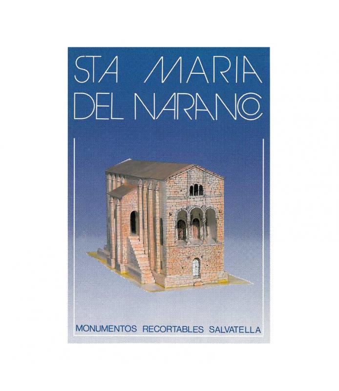 Recortable Monumentos de España Sta Maria del Nara