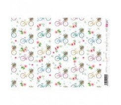 Papel de Arroz 21 x 30 cm Bicycle Ride