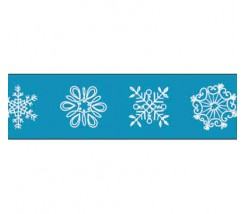 "Whasi tape copos de nieve 15mm ""Folia"""