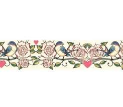 "Washi tape rosal 30mm. ""Stamperia"""