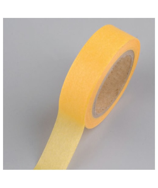 "Washi tape amarillo 15mm. ""Efco"""