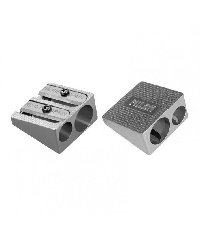 Sacapuntas de Aluminio con 2 Agujeros