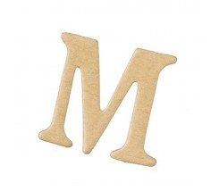 Letras Mache Mas Mini 40 x 2 mm - M