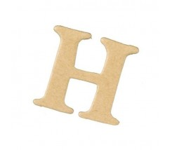 Letras Mache Mas Mini 40 x 2 mm - H