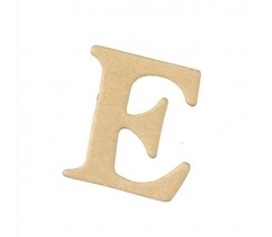 Letras Mache Mas Mini 40 x 2 mm - E